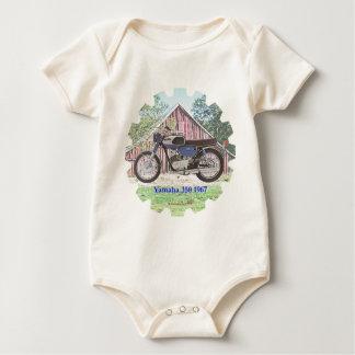 1967 Classic Motorcycle Yamaha Baby Bodysuit