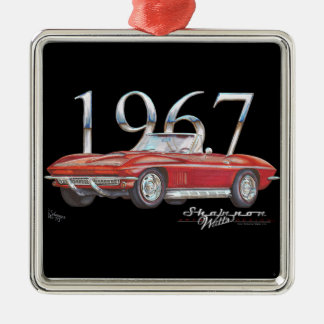 1967 Corvette Stingray Christmas Ornament