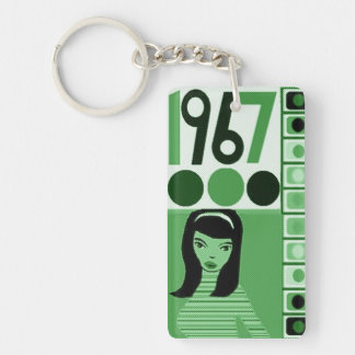 1967 Duchess  go go chick Key Ring