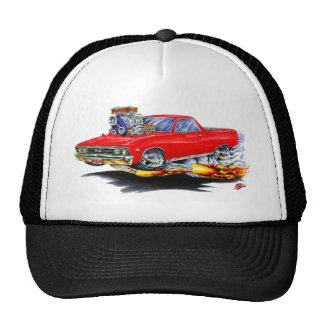 1967 El Camino Red Truck Cap