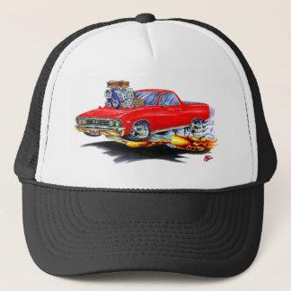 1967 El Camino Red Truck Trucker Hat