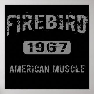 1967 Firebird American Muscle Poster