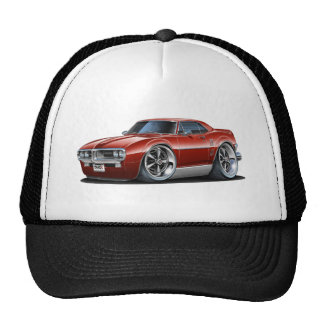 1967 Firebird Maroon Car Cap
