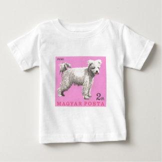 1967 Hungary Pumi Dog Postage Stamp Baby T-Shirt