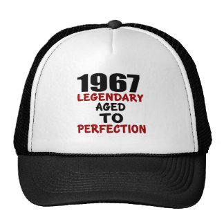1967 LEGENDARY AGED TO PERFECTION CAP