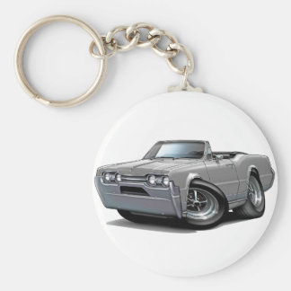 1967 Olds Cutlass Grey Convertible Key Ring