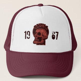 1967 Skull -Logo Red Trucker Hat
