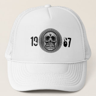 1967 Skull of Rays -Logo Trucker Hat