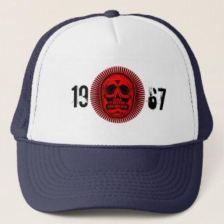 1967 Skull of Rays -Red Logo Trucker Hat