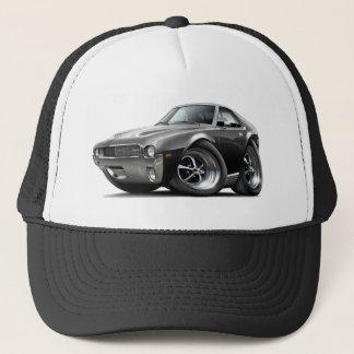 1968-69 AMX Black Car Trucker Hat