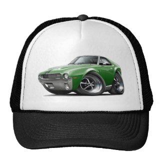 1968-69 AMX Green-Black Car Hat