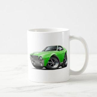1968-69 AMX Lime-Black Car Coffee Mug