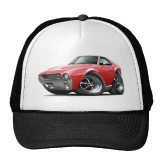 1968-69 AMX Red Car Trucker Hats