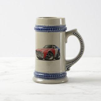 1968-69 AMX RedWhiteBlue Car Coffee Mugs