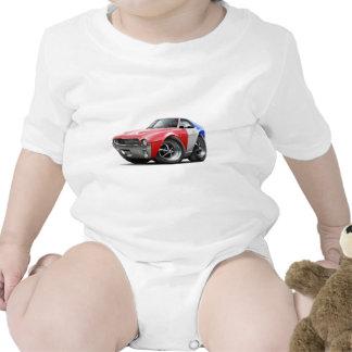 1968-69 AMX RedWhiteBlue Car Baby Bodysuits