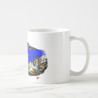 1968-69 Chevelle Blue-Black Convertible Coffee Mug
