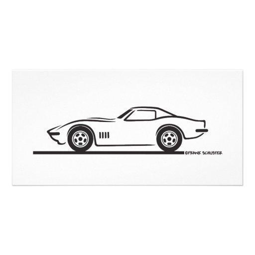 1968-69 Corvette Picture Card