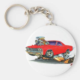 1968-69 El Camino Red Truck Key Ring