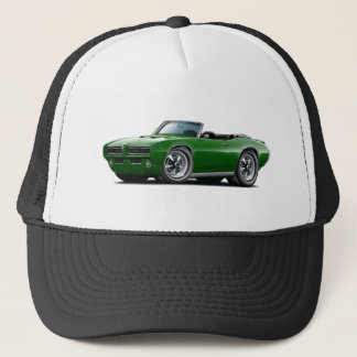 1968-69 GTO Dk Green Convertible Trucker Hat