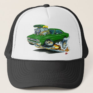 1968-69 Plymouth GTX Green Car Trucker Hat