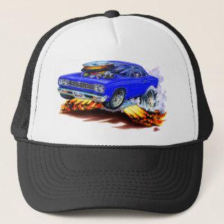 1968-69 Roadrunner Blue Car Trucker Hat
