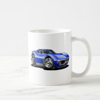 1968-72 Corvette Blue Car Coffee Mug