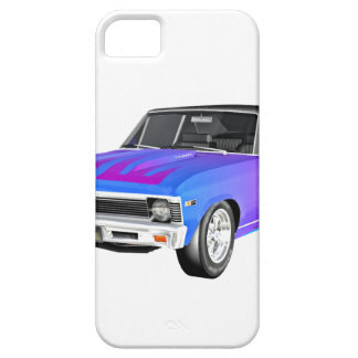 1968 AM Muscle Car in Purple and Blue iPhone 5 Covers
