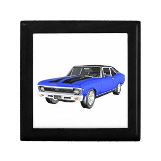 1968 Blue Muscle Car Gift Box