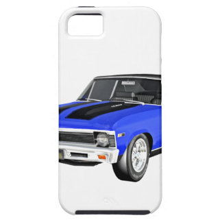 1968 Blue Muscle Car iPhone 5 Cases