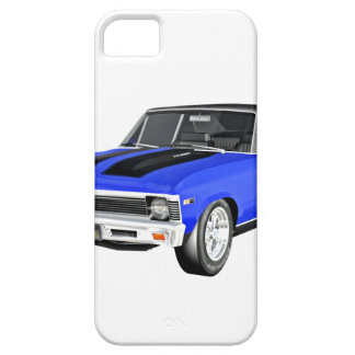 1968 Blue Muscle Car iPhone 5 Cover