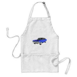 1968 Blue Muscle Car Standard Apron