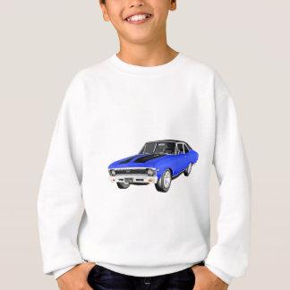 1968 Blue Muscle Car Sweatshirt