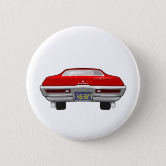 1968 Buick California GS 6 Cm Round Badge