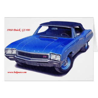1968 Buick GS 400 Card