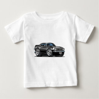 1968 Camaro Black-White Car Baby T-Shirt