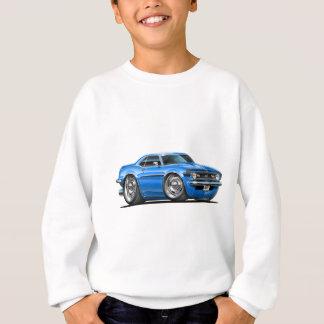 1968 Camaro Blue-Black Car Sweatshirt