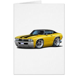 1968 Chevelle Yellow-Black Stripes Card
