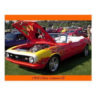 1968 Chevy Camaro SS Postcard