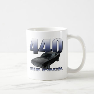 1968 dodge charger rt 440 six pack coffee mug