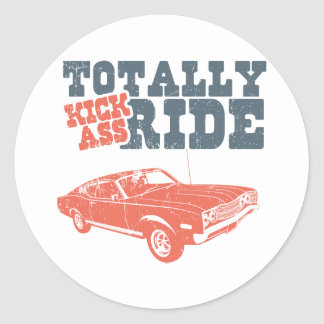 1968 Ford Mercury Cyclone 428 Cobra Jet Sticker