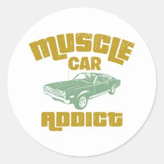 1968 Ford Mercury Cyclone 428 Cobra Jet Stickers