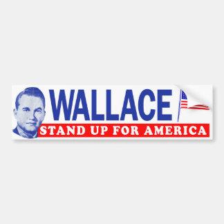 "1968 George Wallace ""Stand Up For America"" Bumper Bumper Sticker"