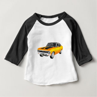 1968 Gold Muscle Car Baby T-Shirt