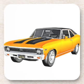 1968 Gold Muscle Car Coaster