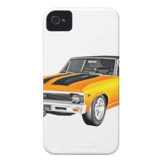 1968 Gold Muscle Car iPhone 4 Case-Mate Case