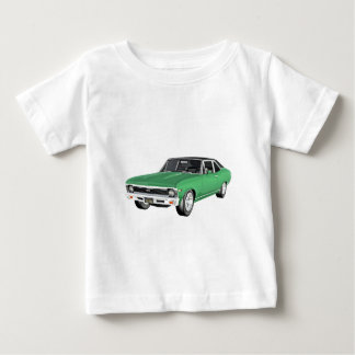 1968 Green Muscle Car Baby T-Shirt