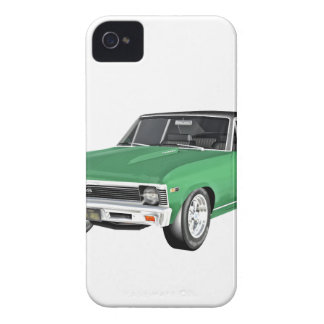 1968 Green Muscle Car iPhone 4 Case-Mate Cases