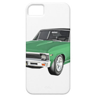 1968 Green Muscle Car iPhone 5 Covers