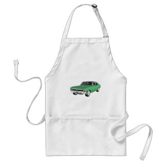 1968 Green Muscle Car Standard Apron