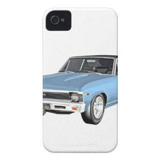 1968 Light Blue Muscle Cars iPhone 4 Case-Mate Cases
